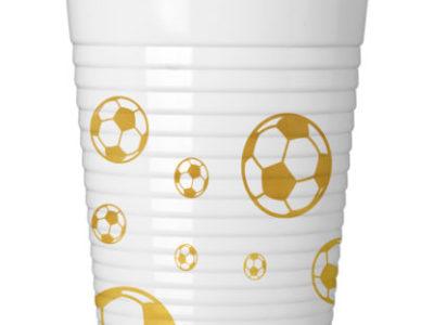 Plastik joogitopsid (8tk)