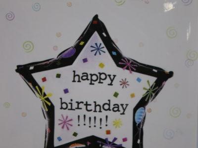 Õhupall Happy Birthday
