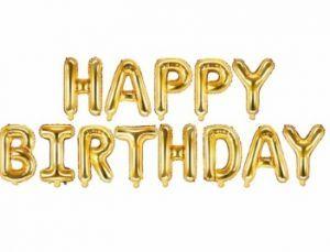Bänner Happy Birthday