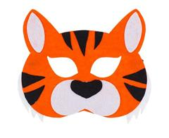 Vildist mask tiiger