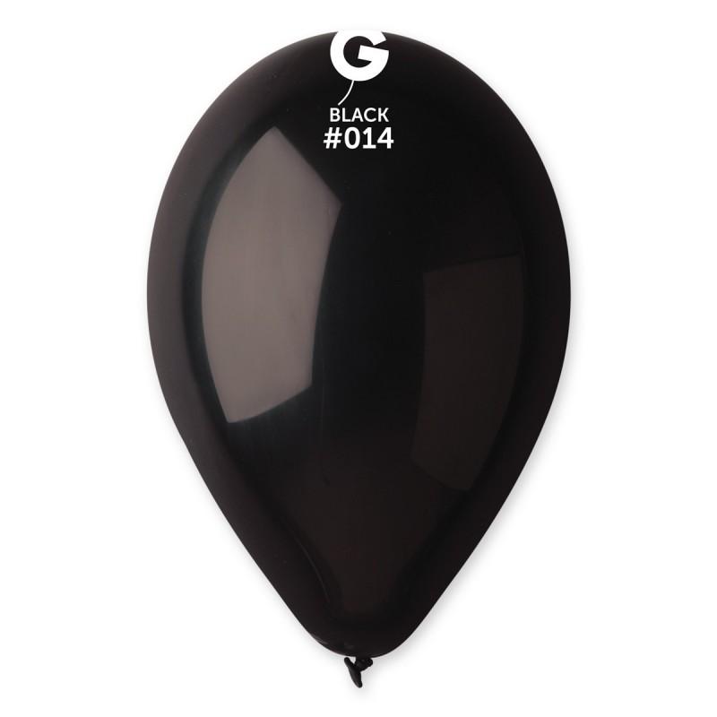 Kummist õhupall must (14)