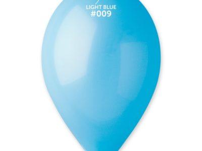 Kummist õhupall helesinine (09)