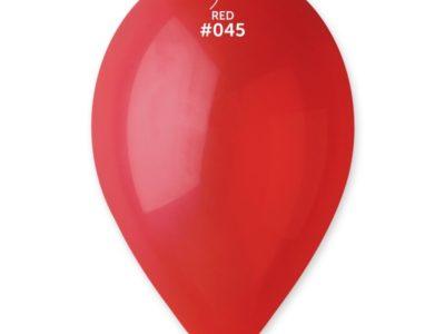 Kummist õhupall metalli läikega punane (45)