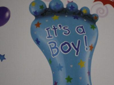 Õhupall Its a Boy 35*21cm