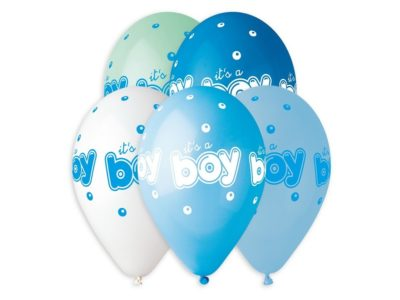 Õhupallid Its a boy 5tk, 33cm