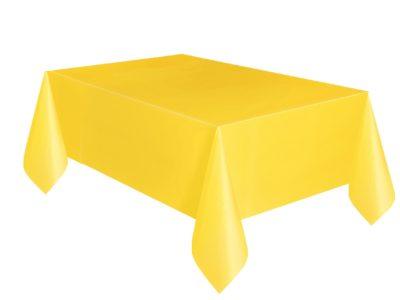 Plastikust laudlina 1,37*2,74cm kollane