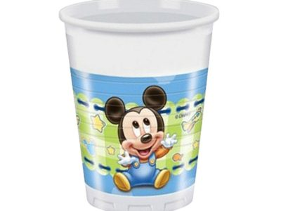 Plastikust joogitopsid 8tk, 200ml