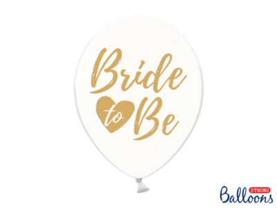 Õhupallid Bride to be 6tk, 30cm