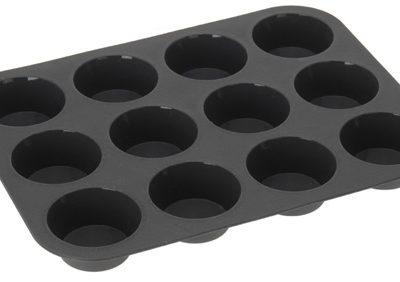 Silikoonist muffinivorm 12 muffinile.