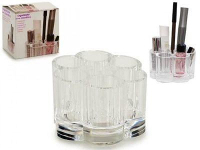 Plastikust kosmeetika toodete organisaator