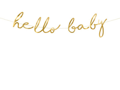 Bänner Hello Baby 2m