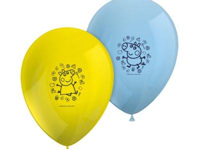 Peppa õhupallid 8 tk